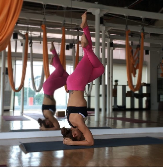 Solace In Self-practice [Yoga Photo Diary]
